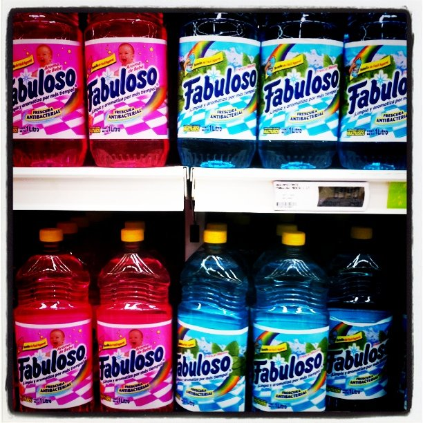 Fabuloso comes in a multitude of flavors like lavender, passion fruit and citrus. Just don't drink it. (Maqroll via Flickr)