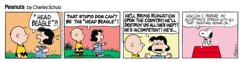 Peanuts trump