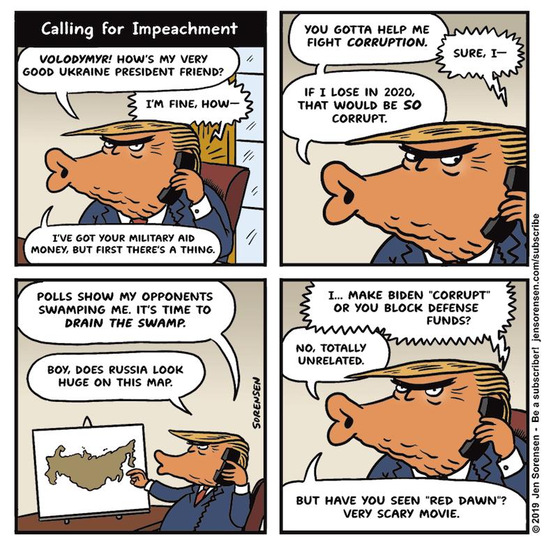 Image result for Trump cartoon whistleblower