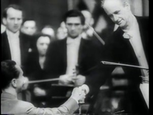 Furtwangler shaking hands with (?) Goebbels