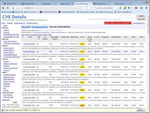 Vulnerabilities in Exchange 2010