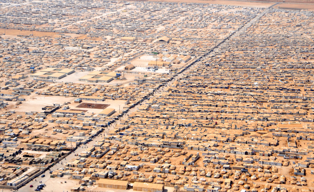 Syrian Refugee's camp