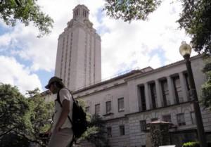 A student walks at the University of Texas campus in Austin, Texas, U.S. on June 23, 2016. REUTERS/Jon Herskovitz/File Photo