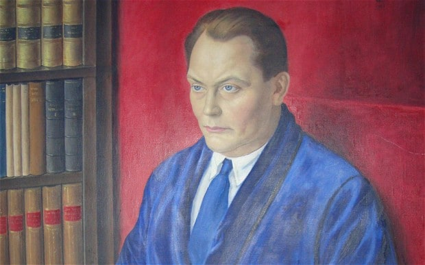 Goering by Imre Goth. Goth had to flee the country after this unsparing portrait of a trank'd feldmarschall