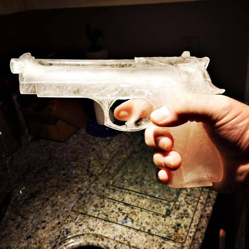 Ice gun can't hurt anyone