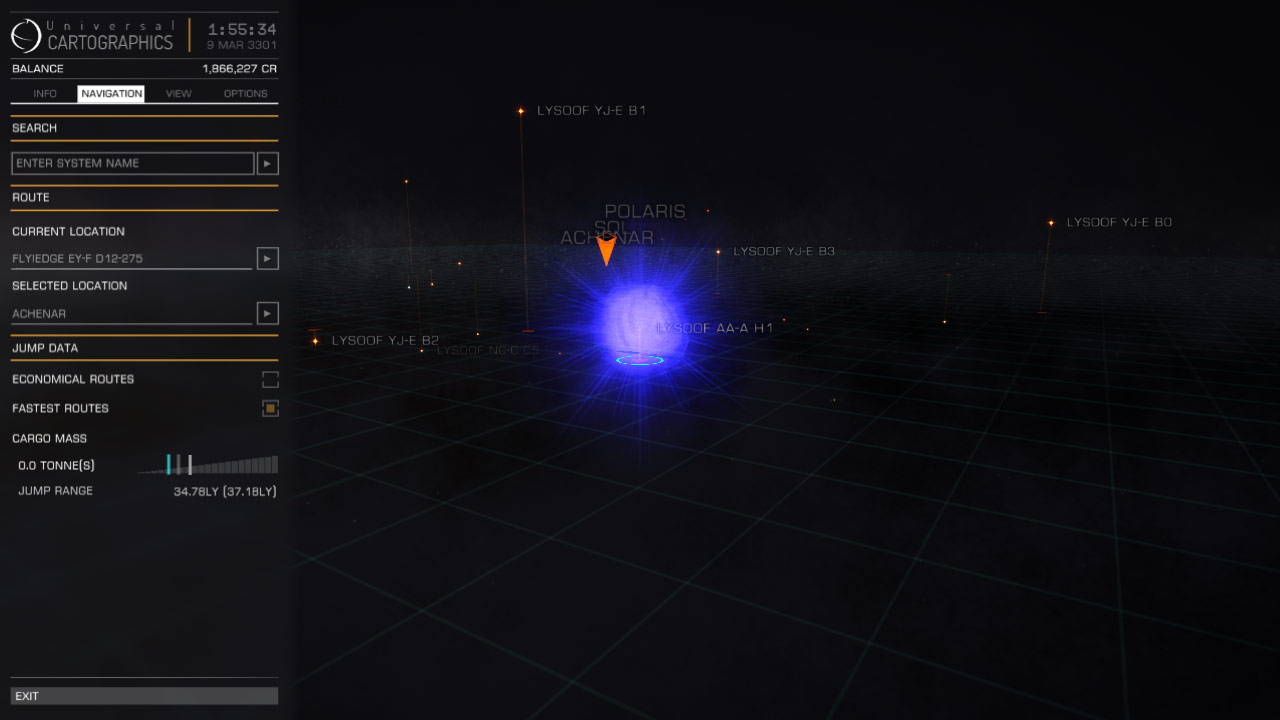 Lysoof AA-A H1 (discovered by: CMDR Surly Badger)