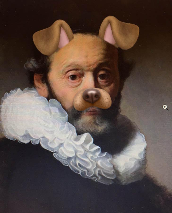 Snapmixed Rembrandt