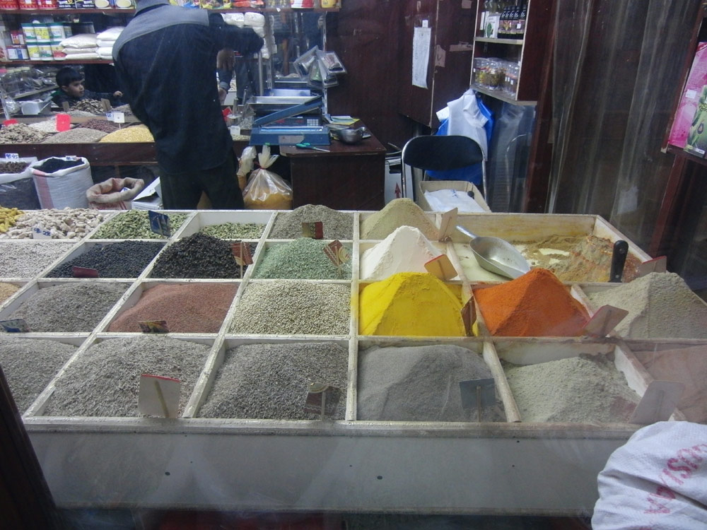 Spices in the market in Doha, Qatar