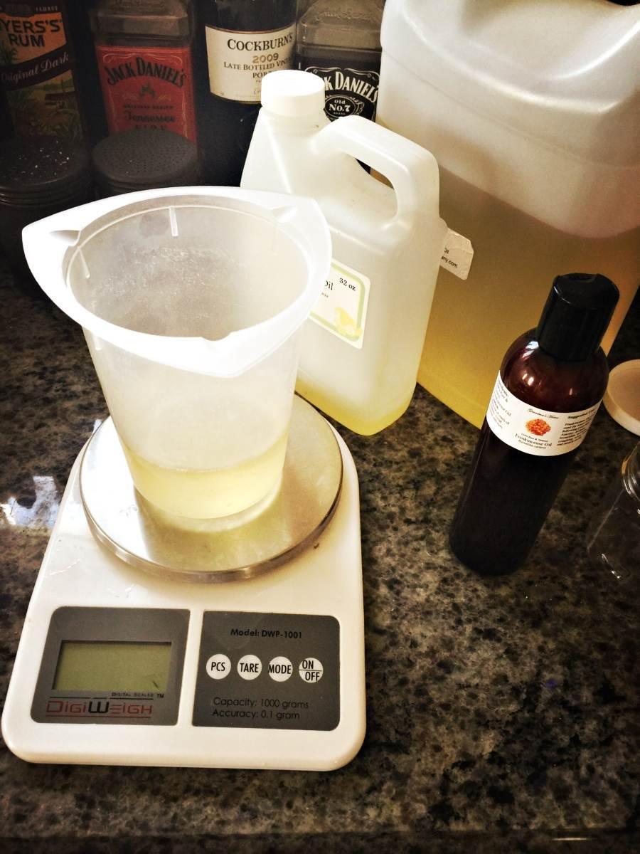 coconut oil and frankincense yum yum oil