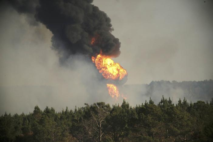 Alabama Pipeline Fire