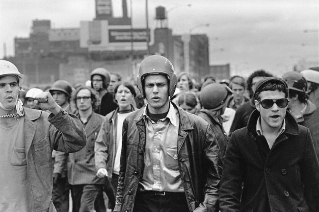 SDS revolutionaries Columbia U 1968