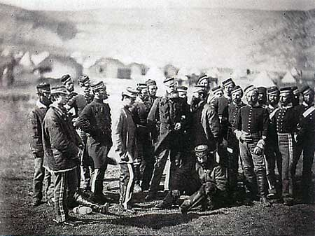 The survivors of the Light Brigade
