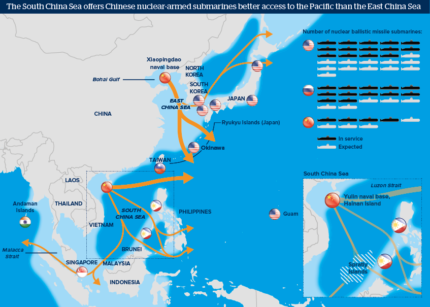 China Subs Ingress/Egress points (source)