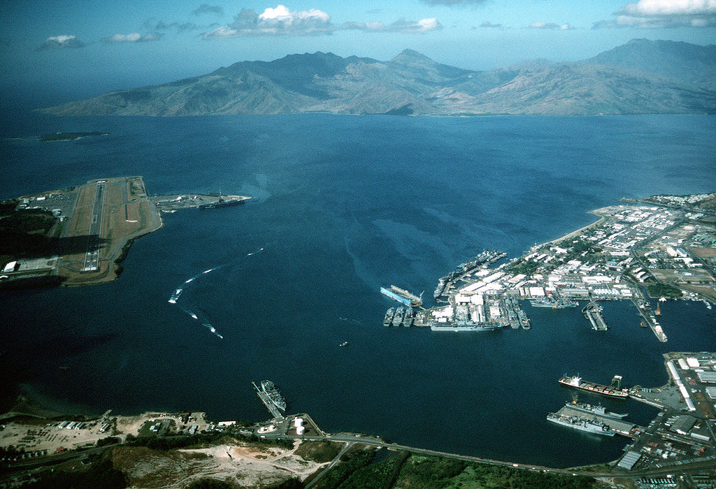 Subic Bay and Naval Air Base