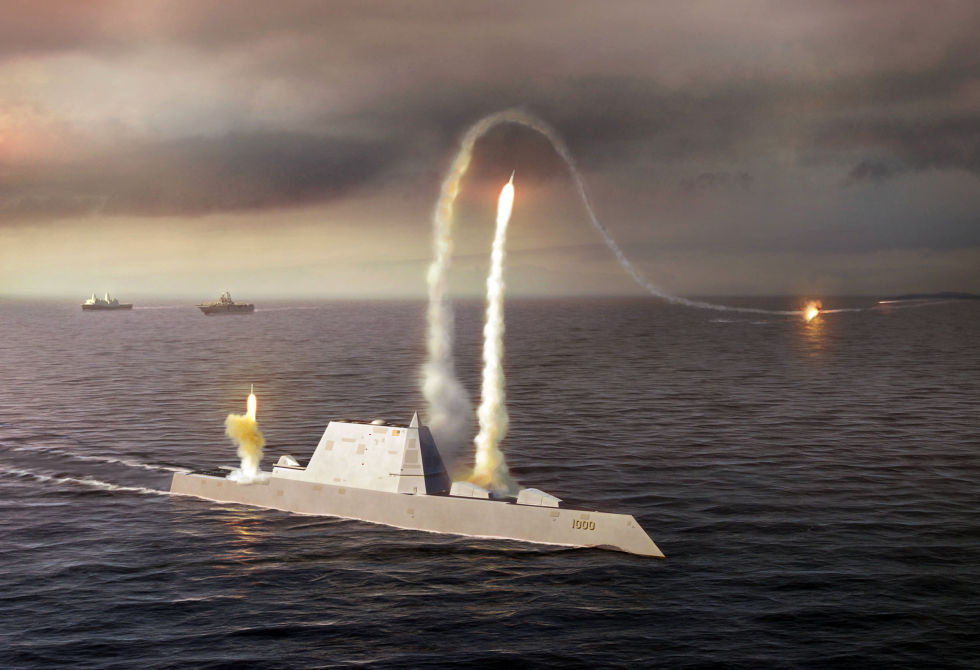 It's a missile boat (Source: Popular Mechanics)