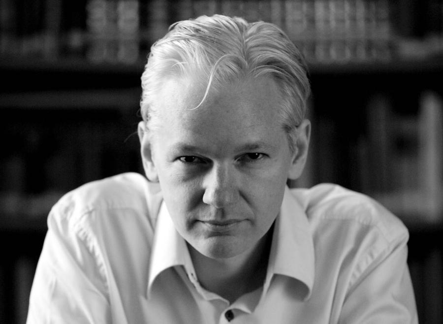 Julian Assange. Me spider, you fly.