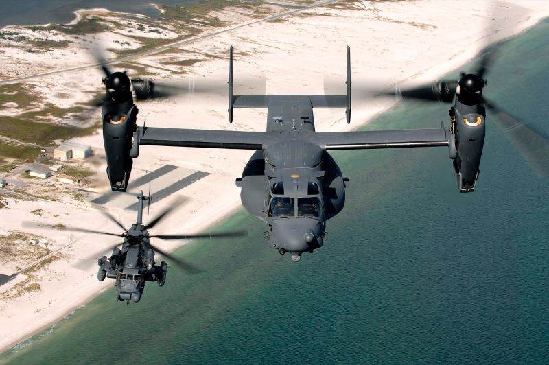 CV-22 Flying Death Trap