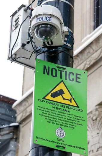 CCTV in Toronto [sun]