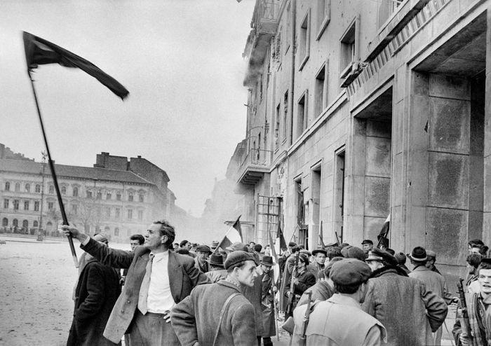 John Sandovy Budapest, 1956
