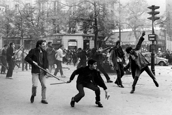 Boulevard Saint Germain, Bruno Barbey 1968