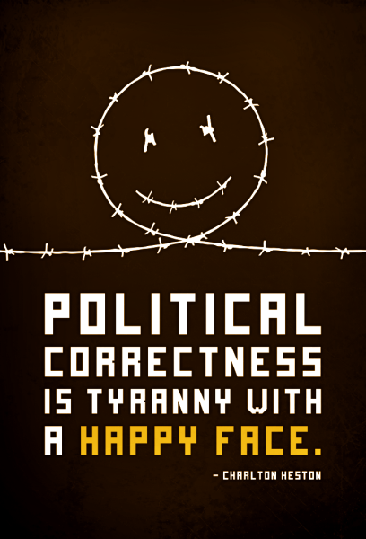 "Input, line 1: term ""political correctness"" undefined. STOP."
