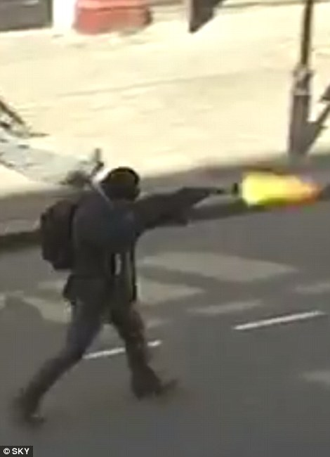 """""""the exercise began with fake terrorists in the street shooting at civilians with blanks in AK-47s"""""""