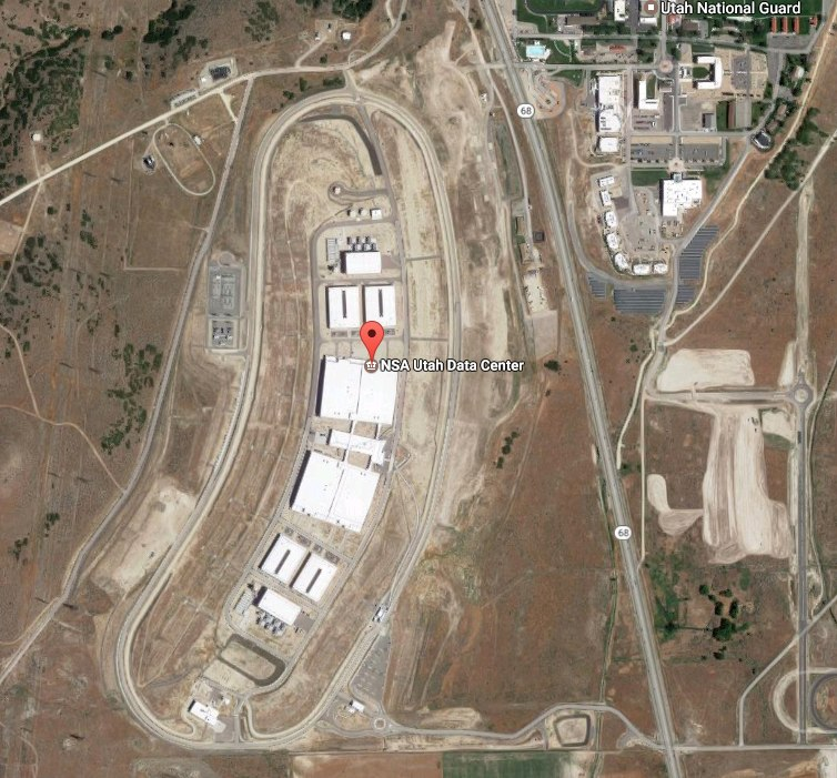 The NSA's data center in Utah. This is only one of many.