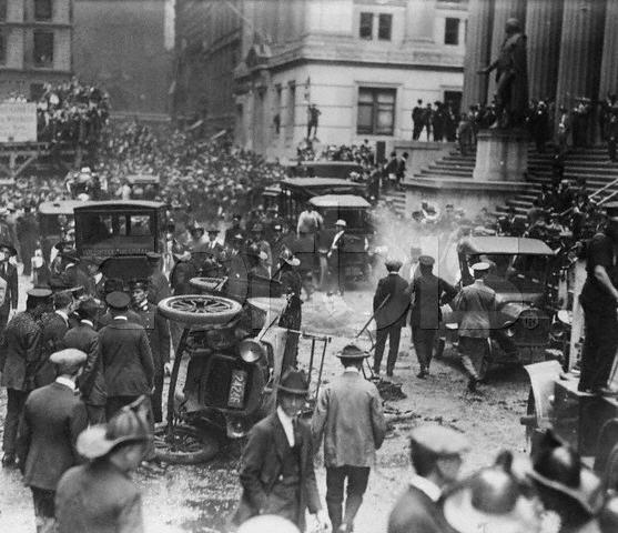 16 Sep 1920 Wall St Bombing