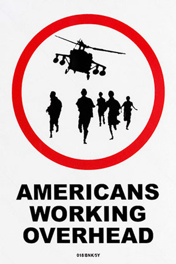 Americans-Working-Overhead-by-Banksy