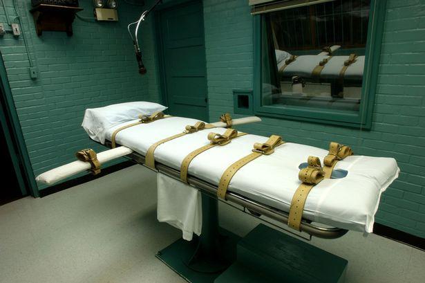 Texas lethal injection setup