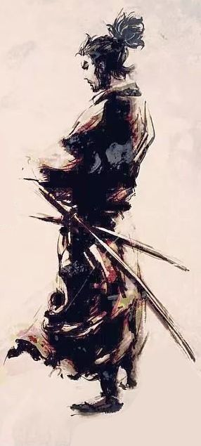 Miyamoto Musashi (unknown artist)