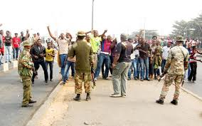 military occupy