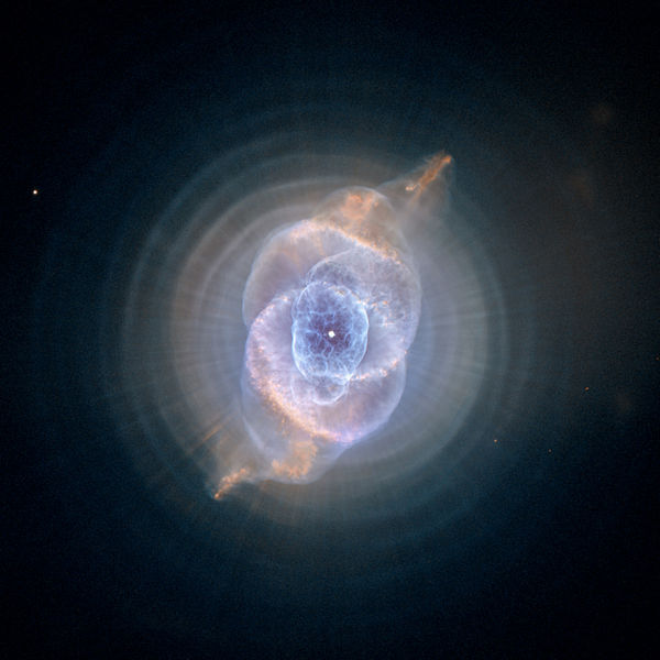 Perhaps the most exquisite planetary nebula of all: the Cat's Eye.