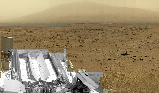The billion-pixel Mars is a click away at the NASA homepage, the zoom feature makes it safe to load and view
