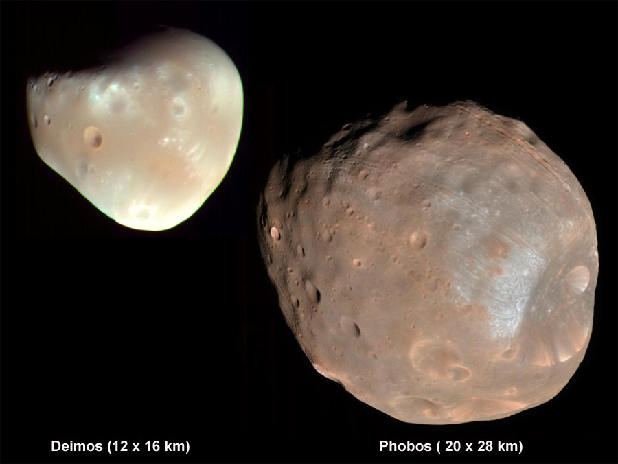 mars and its 2 moons - photo #14